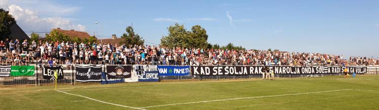 Quelle: Facebook NK Marsonia Slavonski Brod – Relegationsspiel Juli 2020