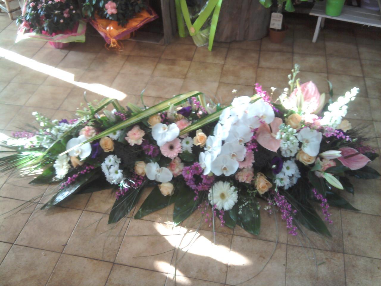 Bien-aimé Funéraire - Bienvenue chez Anylys Fleurs - Compositions florales HC84
