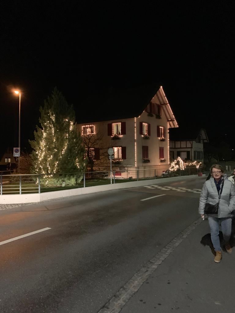 ...anschliessend Spaziergang in Reichenburg...