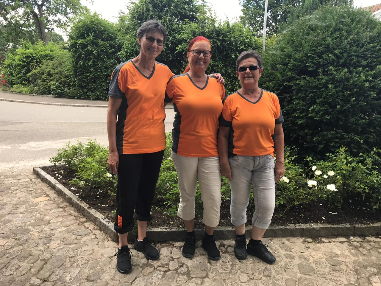 """""""unsere"""" Silver Ladys an der Schlussvorführung vom ETF 2019 in Aarau"""