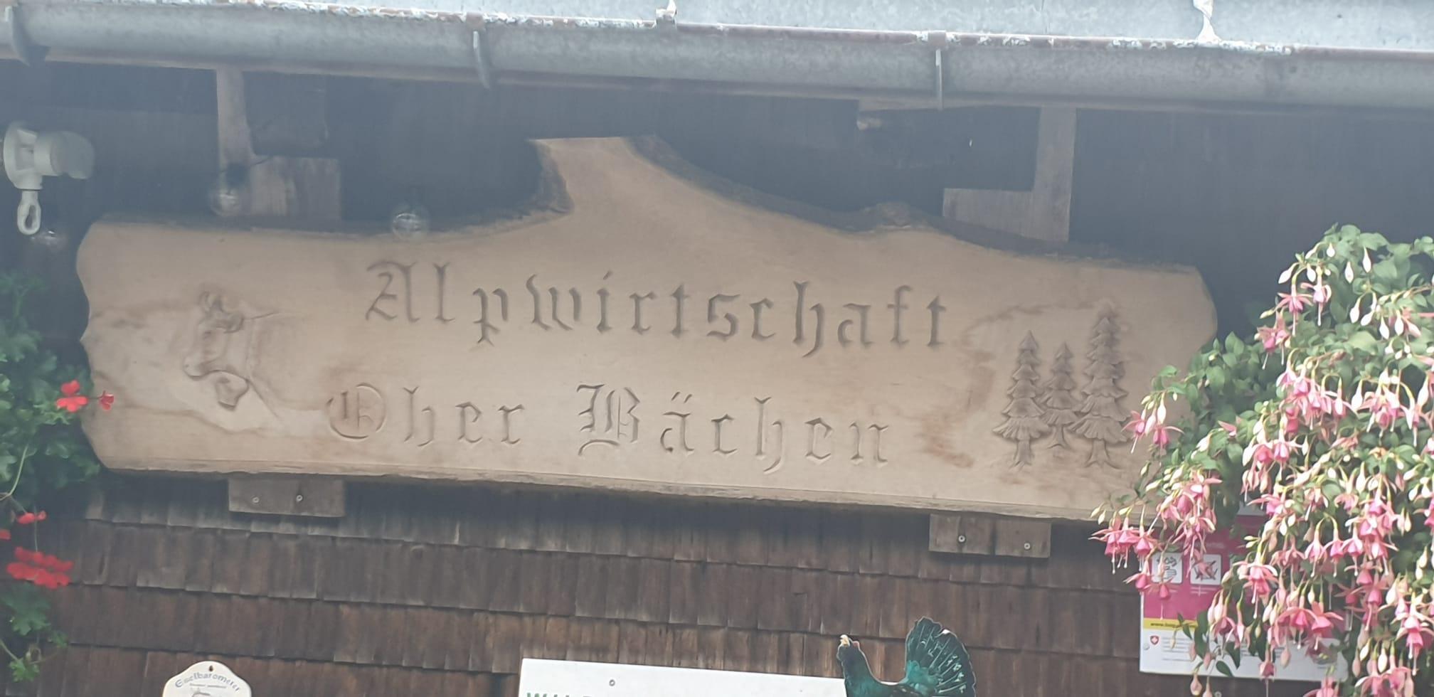 Alpwirtschaft Oberbächen