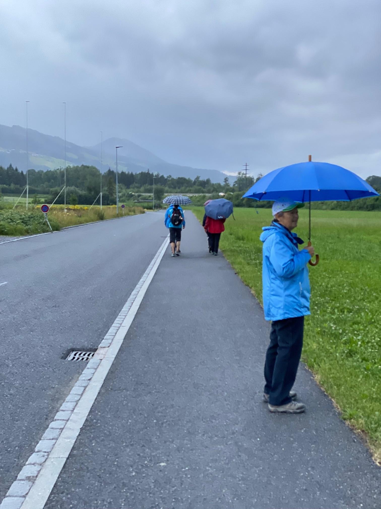...und Regen