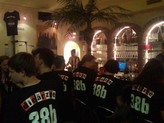 Die Ärzte Aftershowparty 2012 im El fuego für bar-hocker
