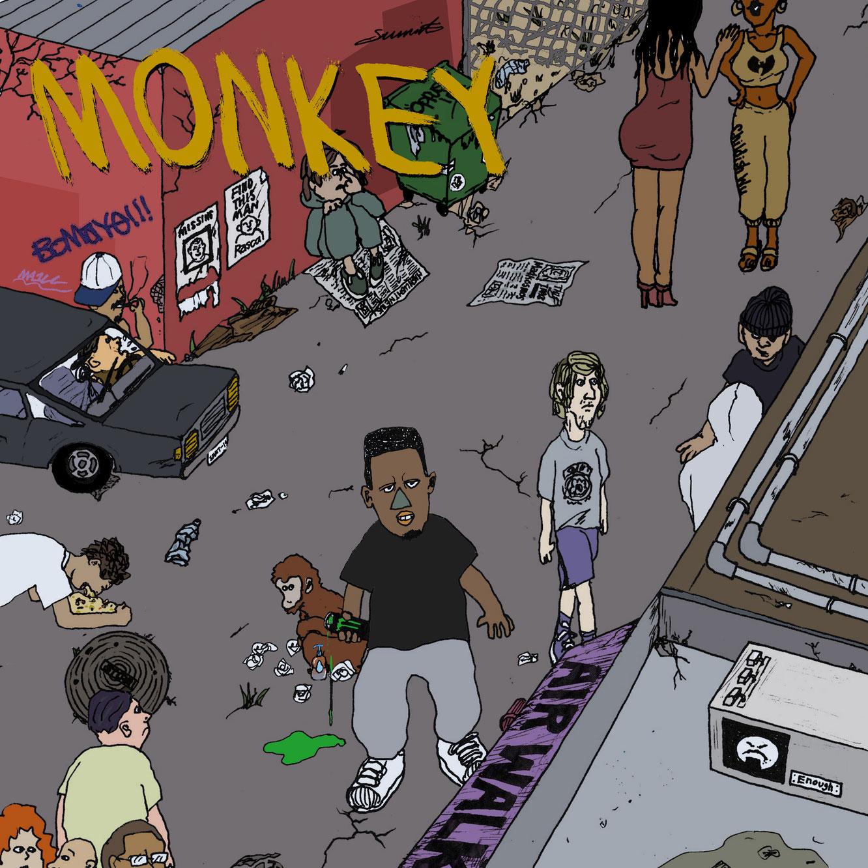 5/7(金)OMSB『MONKEY』リリース。
