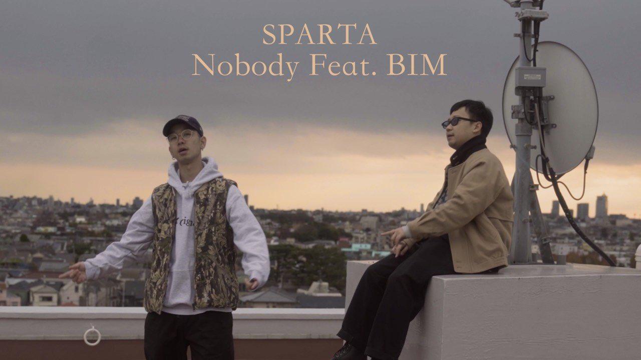 """SPARTA """"Nobody feat. BIM"""""""