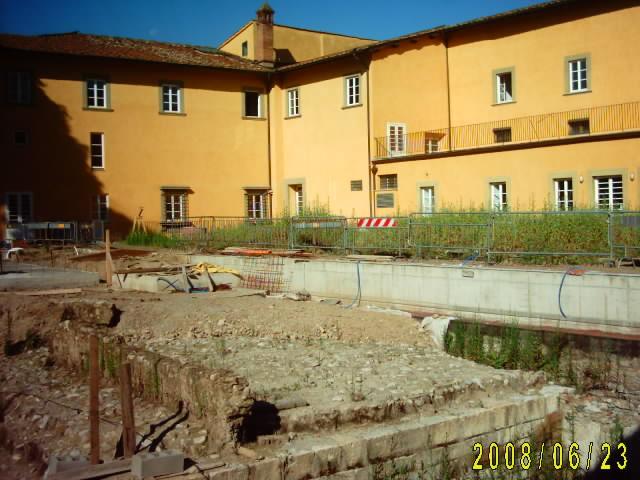 PROVINCIA DI PRATO - Lavori di restauro a Palazzo Banci Buonamici in Prato - completamento del giardino pensile.