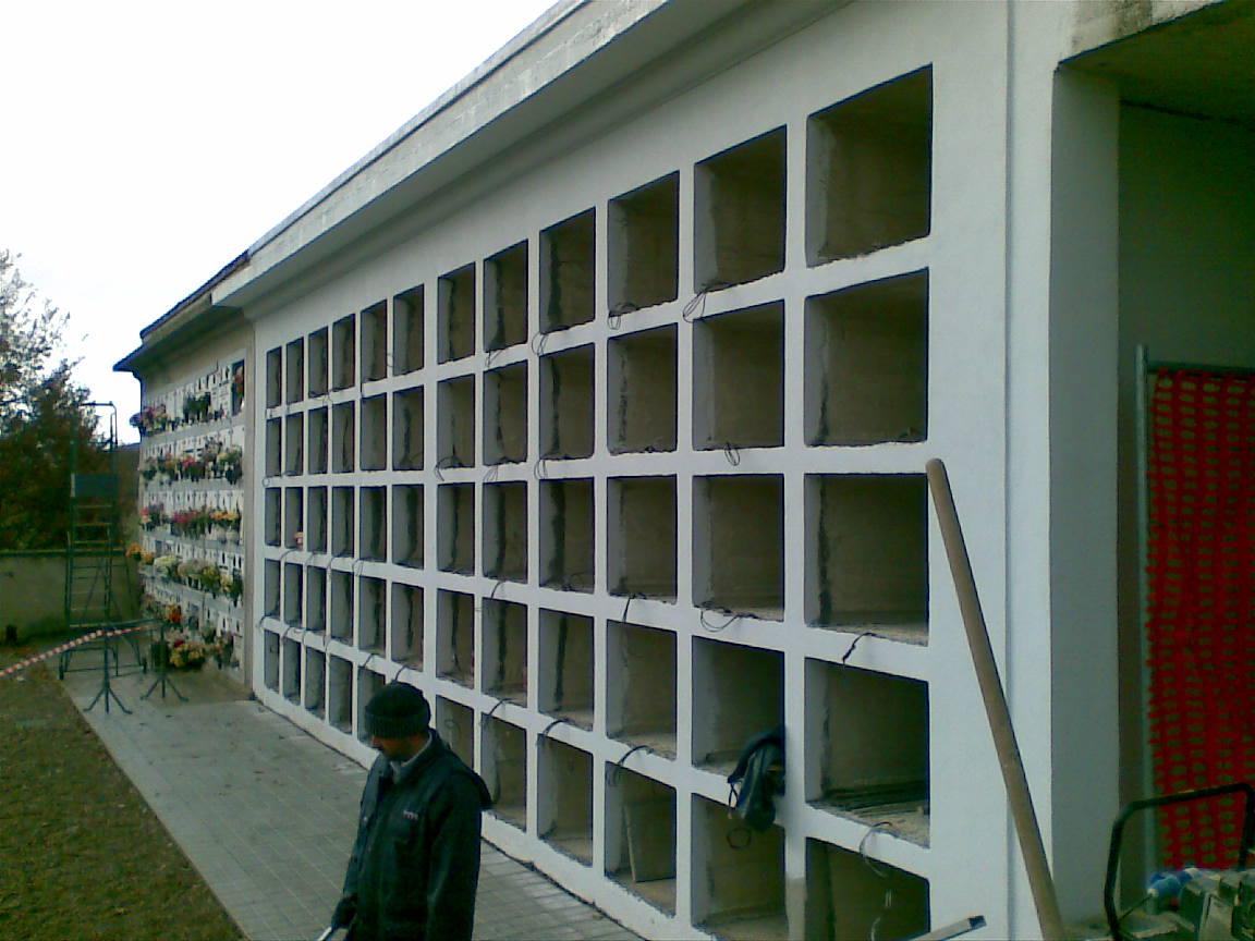 COMUNE DI BUCINE - Ampliamento del cimitero comunale di Ambra.