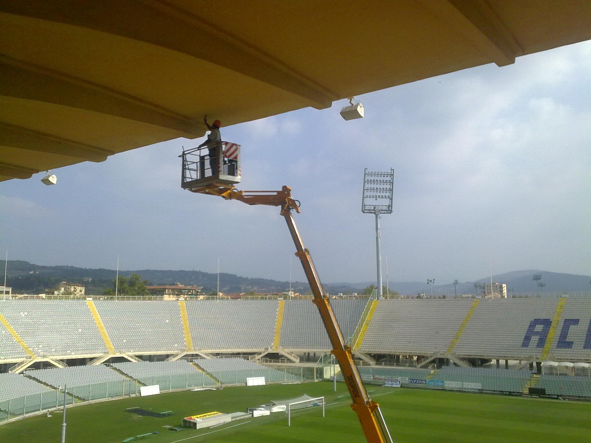 COMUNE DI FIRENZE - Stadio comunale Artemio Franchi. Intervento propedeutico alla verifica di idoneità statica.