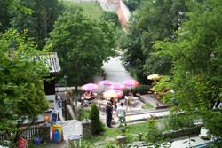Minigolfanlage mit Café/Terrasse
