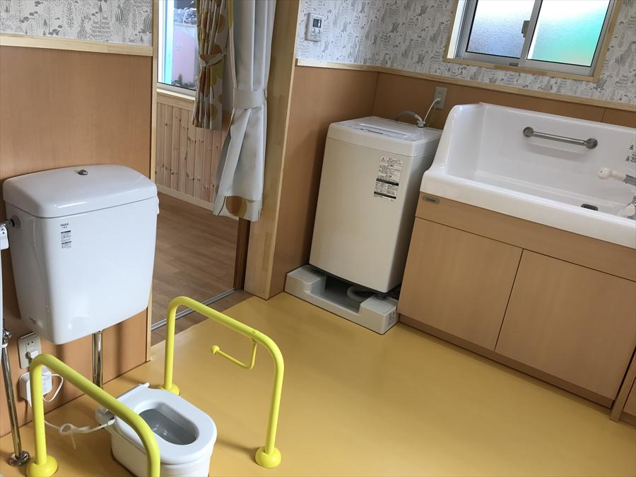乳児トイレ・沐浴室