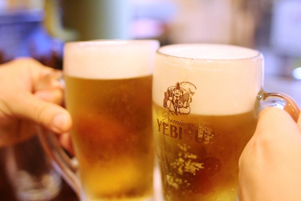 ビールはヱビス!