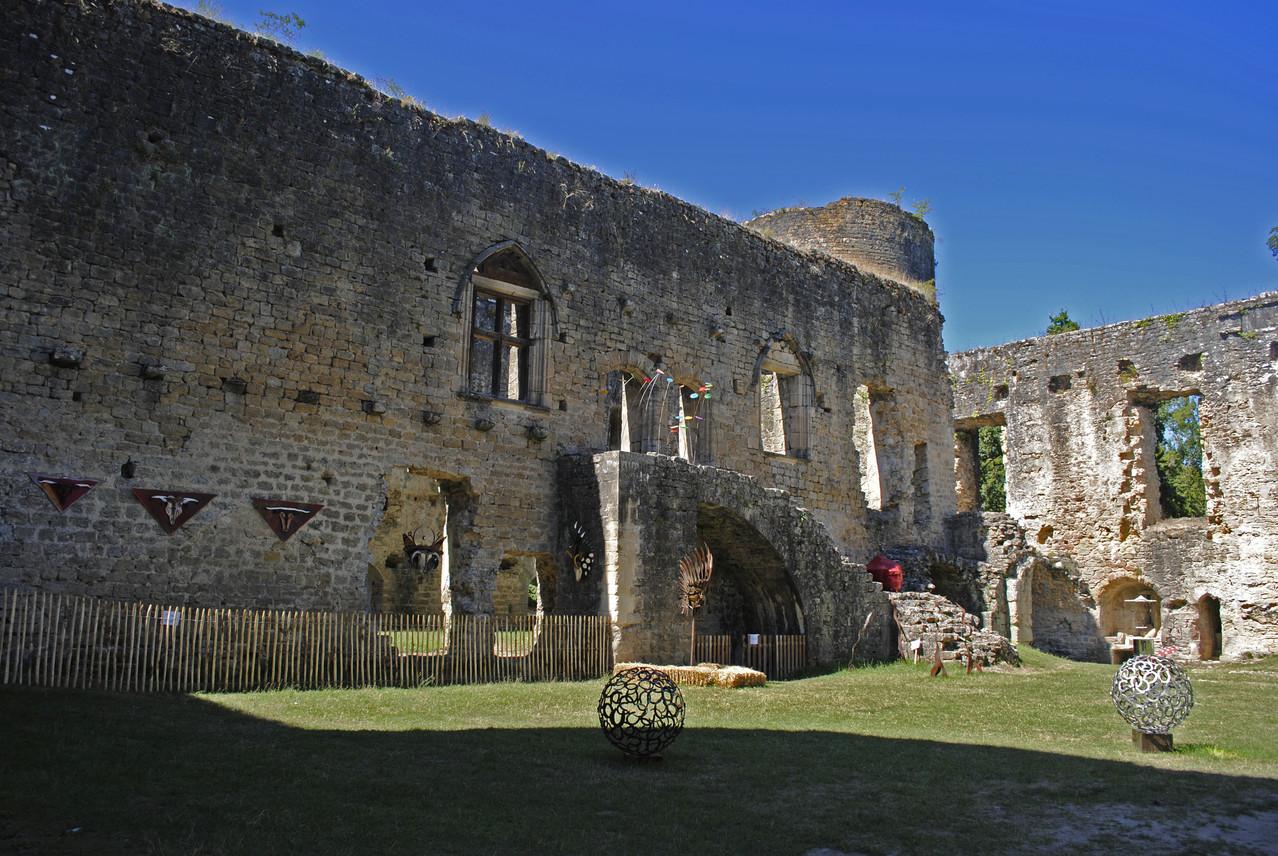 Château de Villandraut, corps de logis ouest
