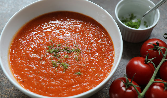 Tomaten-Fenchel-Suppe