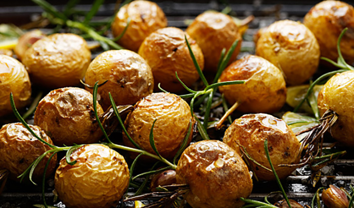 Rosmarin-Schmorkartoffeln