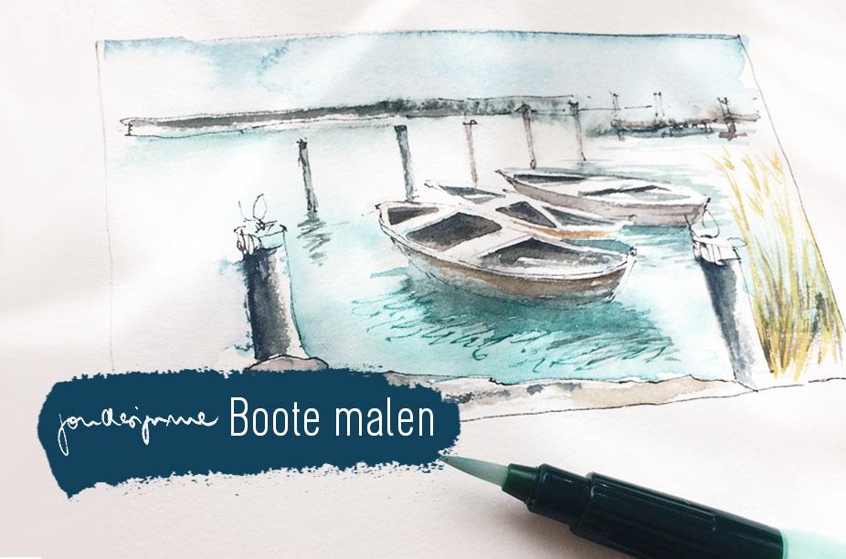 Boote malen- Workshop