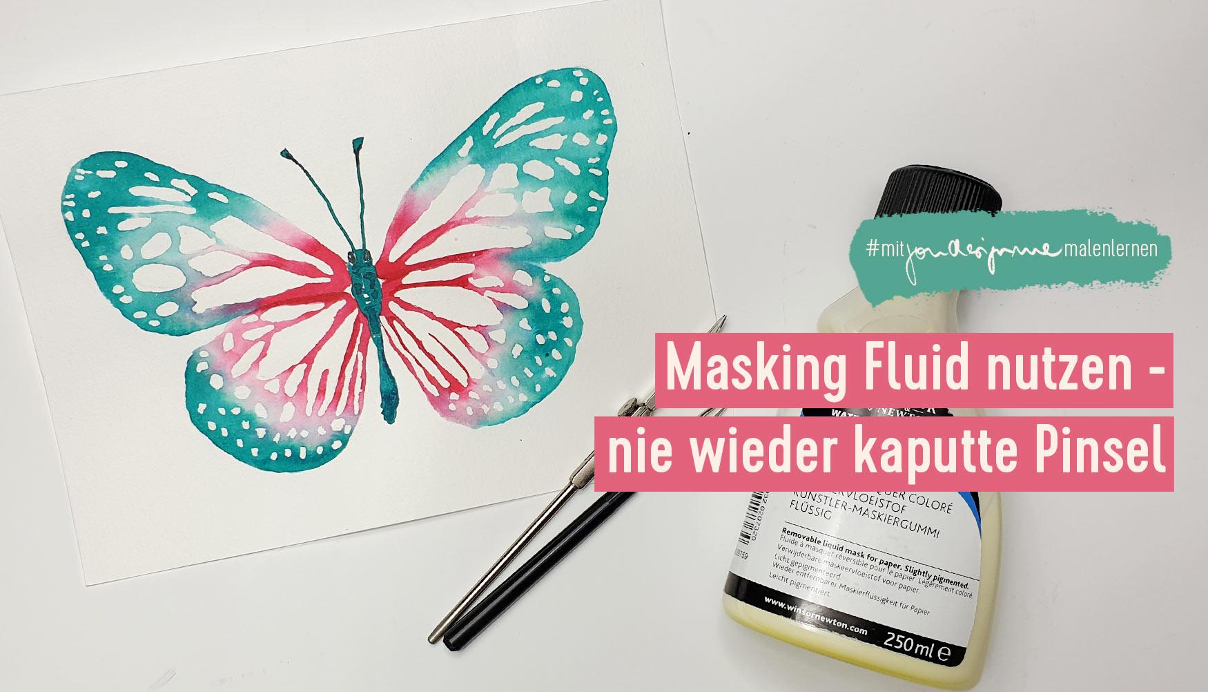 Masking Fluid - nie wieder kaputte Pinsel