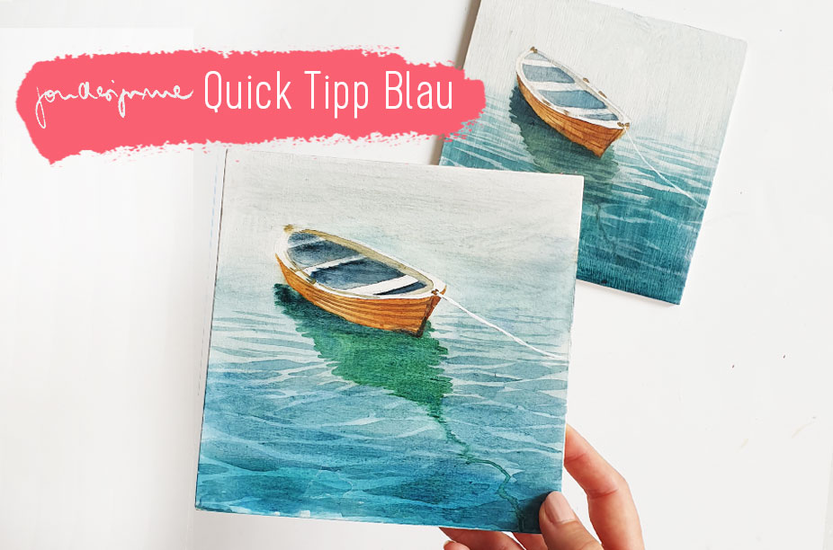 Quick Tipp Farben: Blau