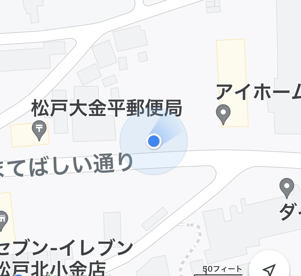 この場所です
