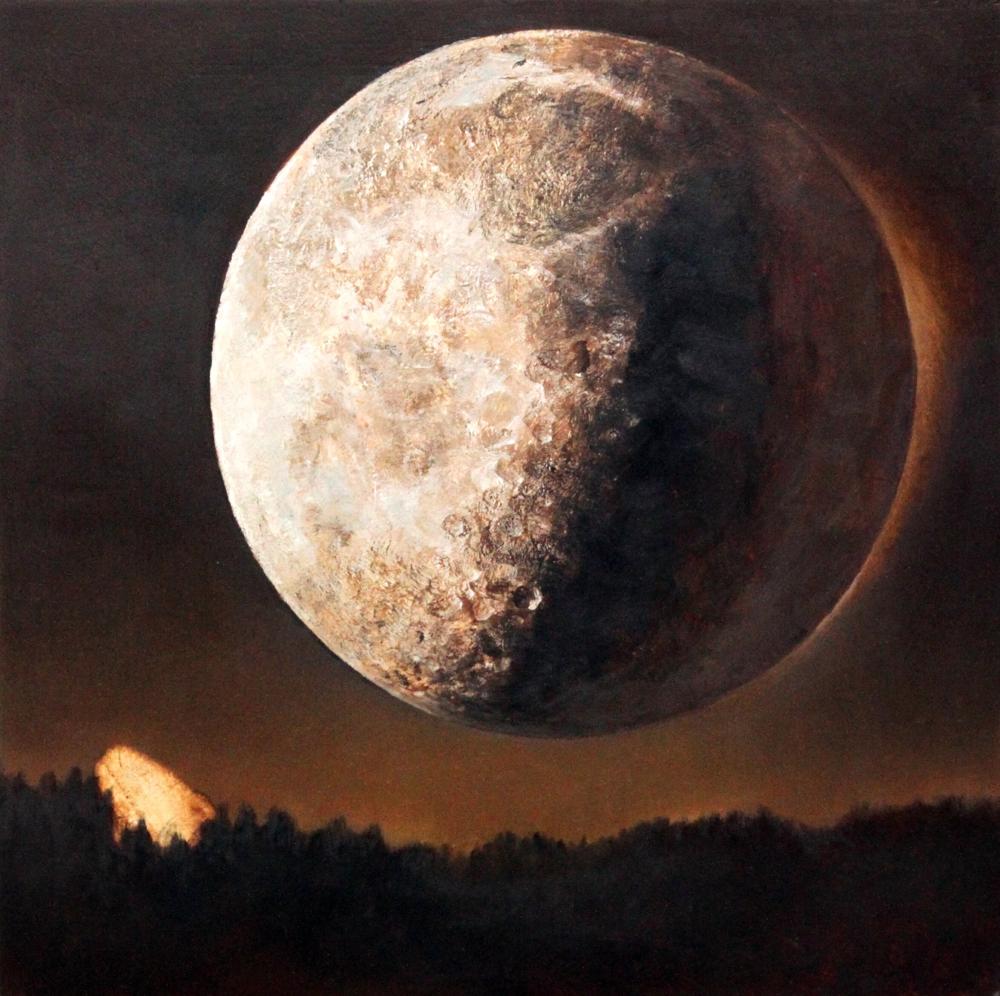 原太一 「月光」パネルにアブソルバン、オイル
