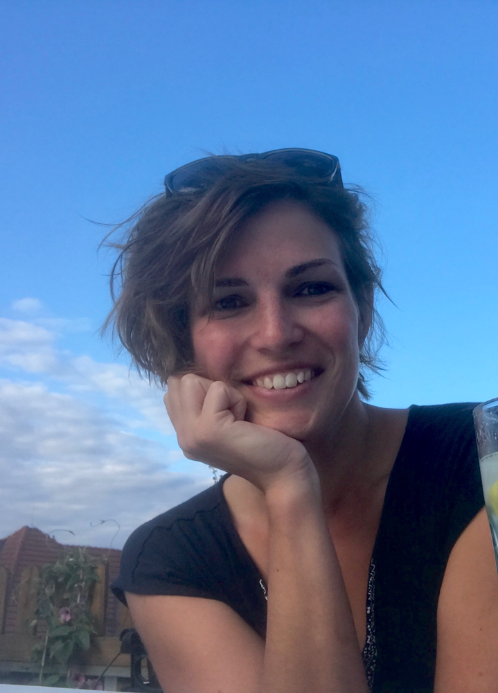 Hündchenstellung Ausflug mit gnädig Jenaveve Jolie
