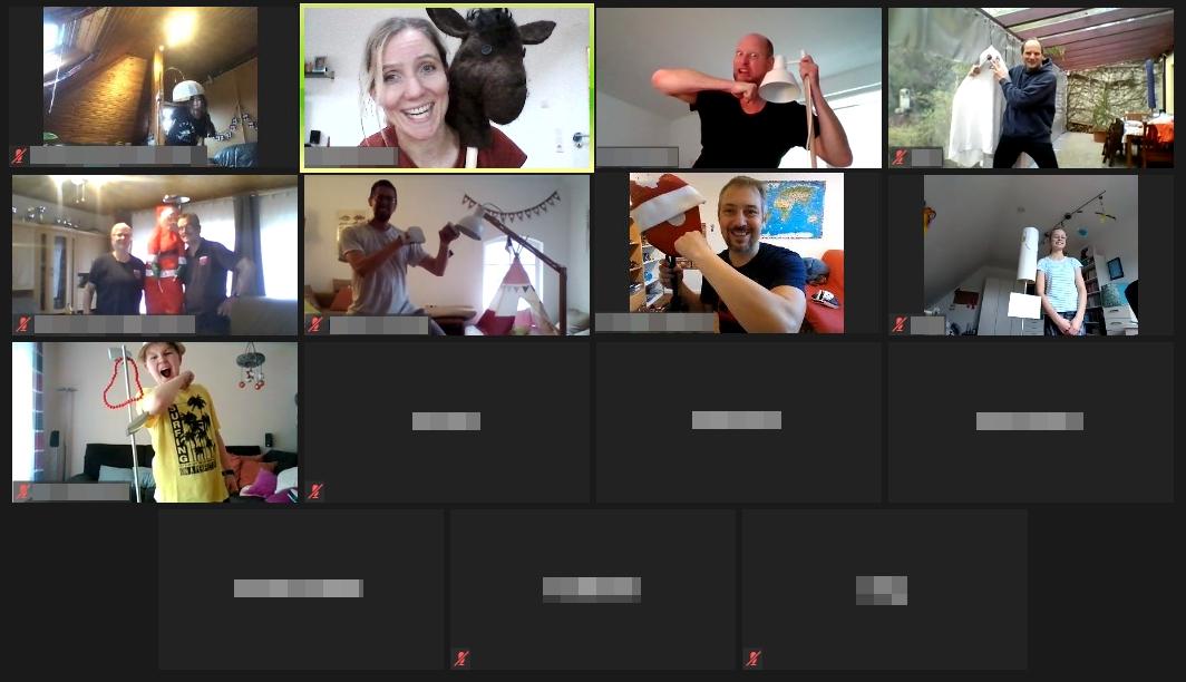 Zoom-Training mit Knut Riedel