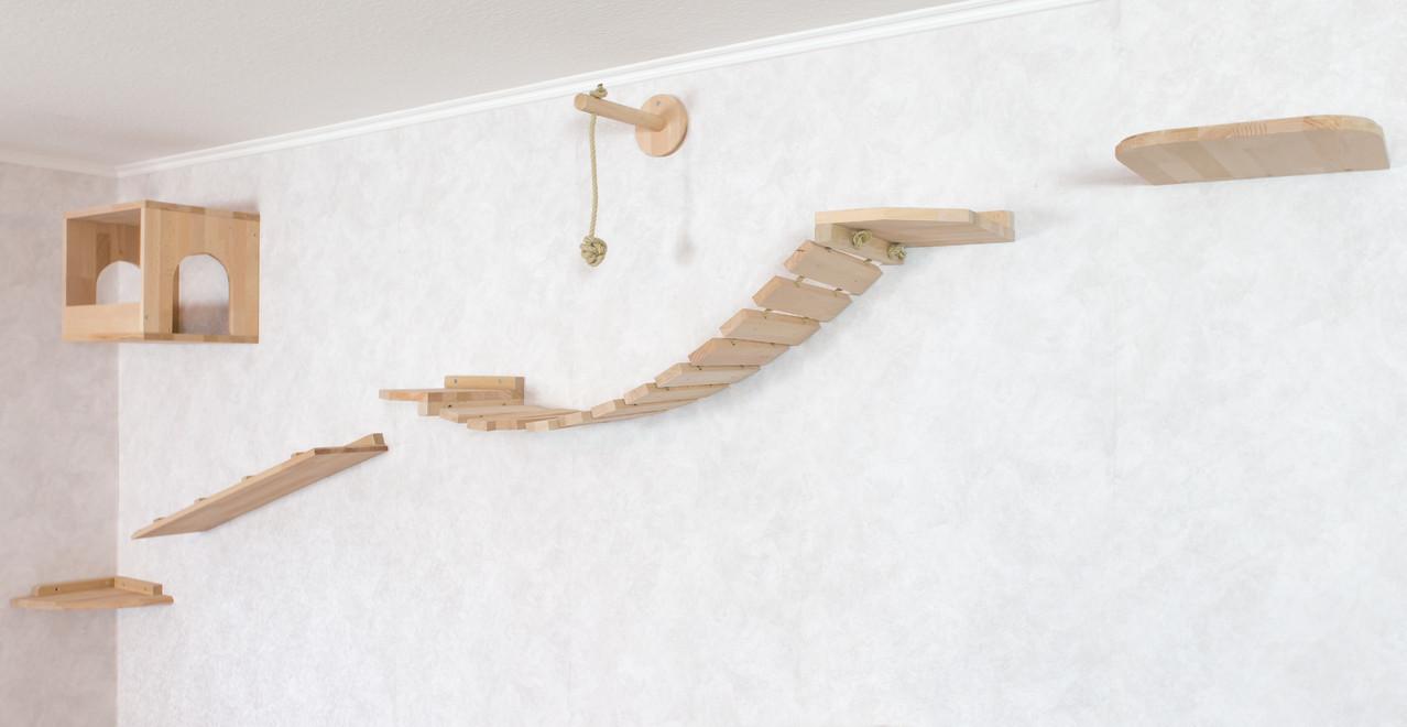 katzenwandpark katzenspielm bel jennys echte handarbeit. Black Bedroom Furniture Sets. Home Design Ideas