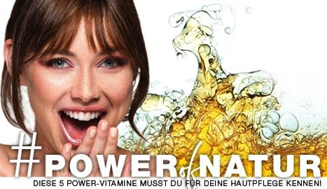 POWER OF NATUR: Diese 5 Power-Vitamine musst du für deine Hautpflege kennen!