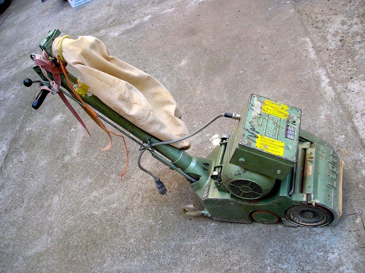 Parkettschleifmaschine Lägler ELF 80 Kg