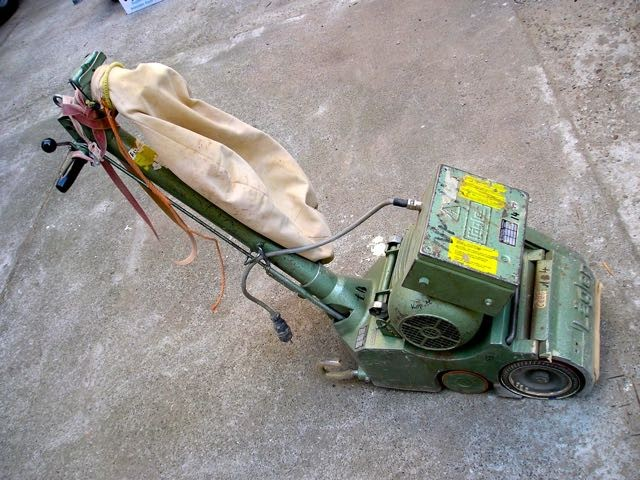 Floor sanding machine Lägler ELF 80 Kg