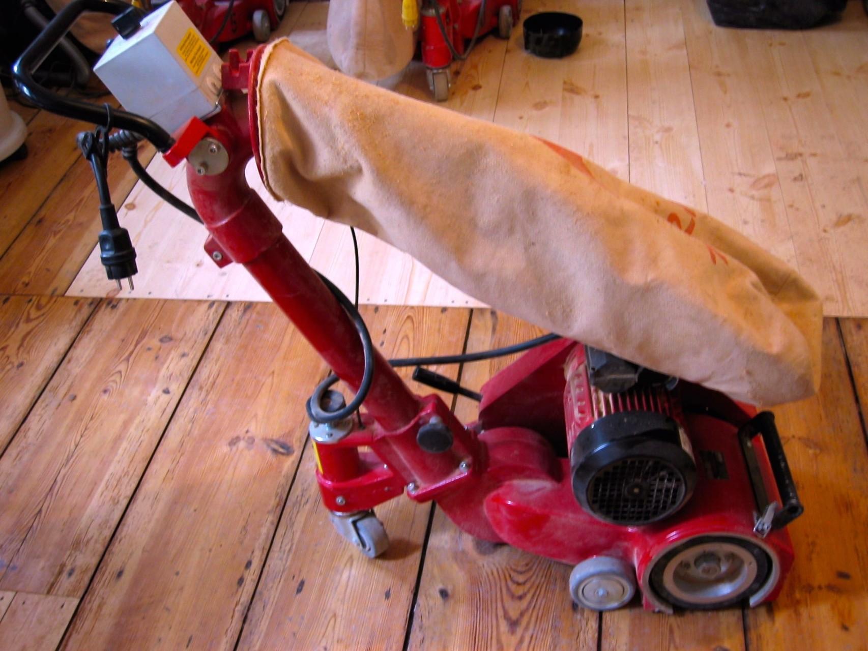 Parkettschleifmaschine FG Tornado 60 Kg