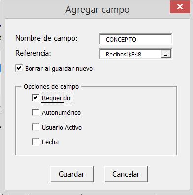 Generador de Folios en Excel - Página web de Cronytech, Ayuda de ...