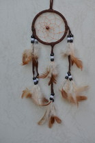 Bild Suchmaschinenoptimierung SEO Traumfänger Dreamcatcher Federn Holz Perlen Träume negative gute schlechte