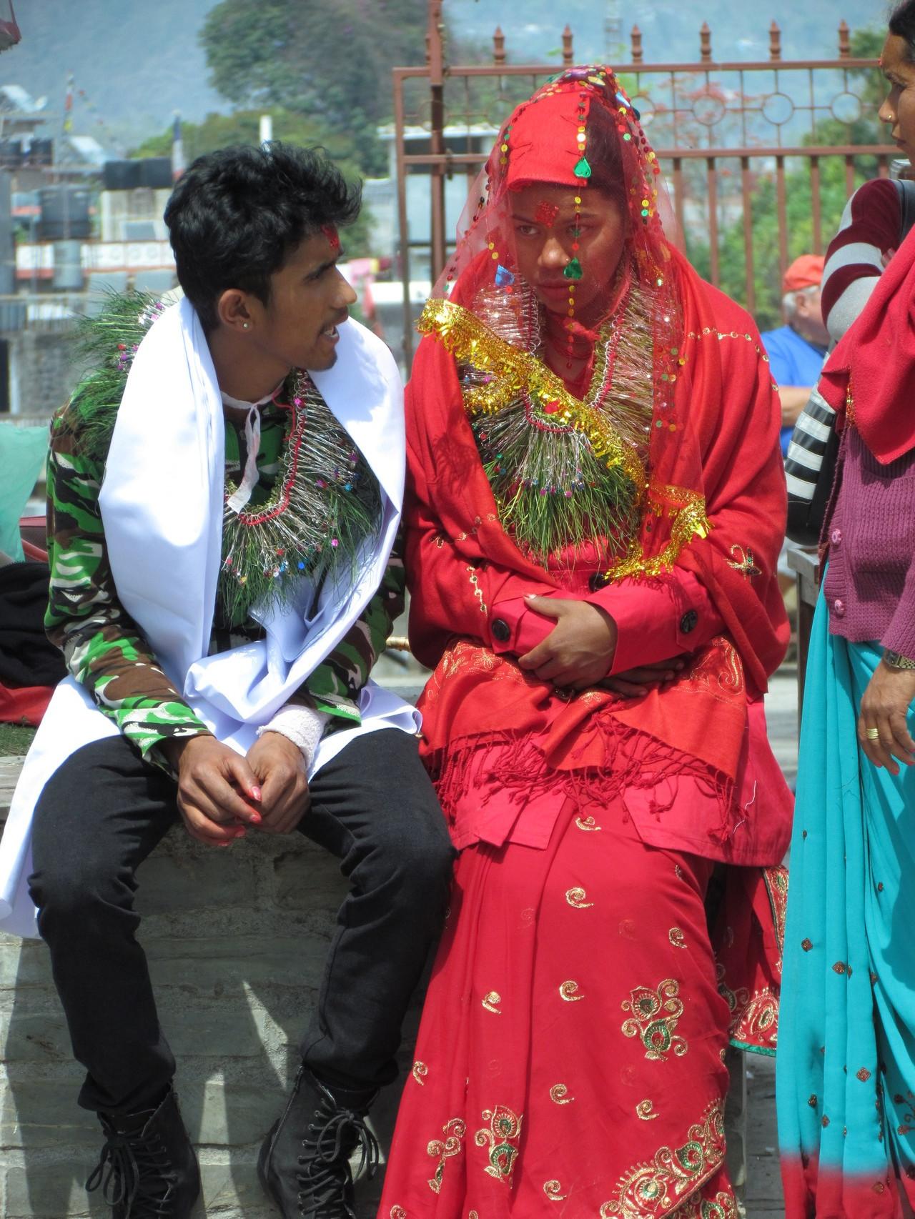 eine unglückliche Braut