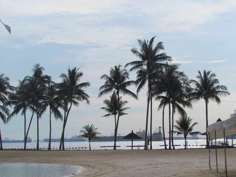 kurzer Strandbesuch