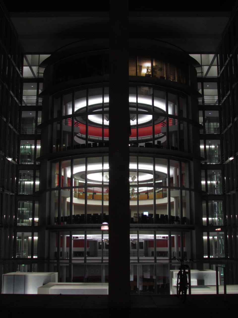 Büroturm im Regierungsviertel