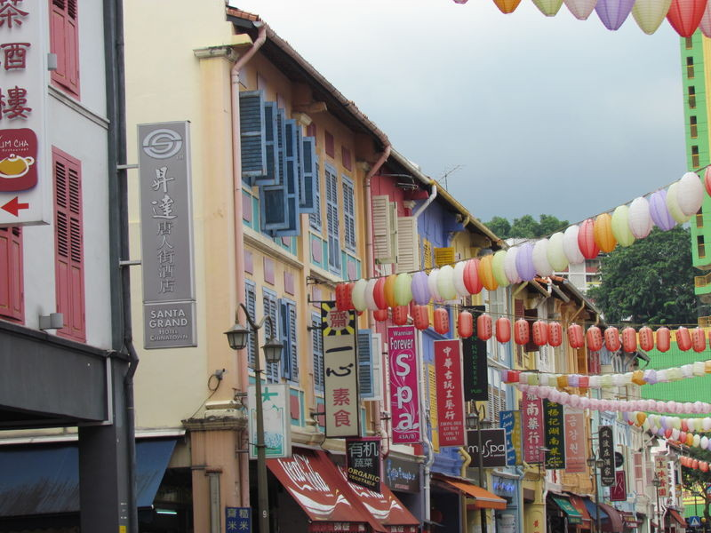 Gasse in Chinatown