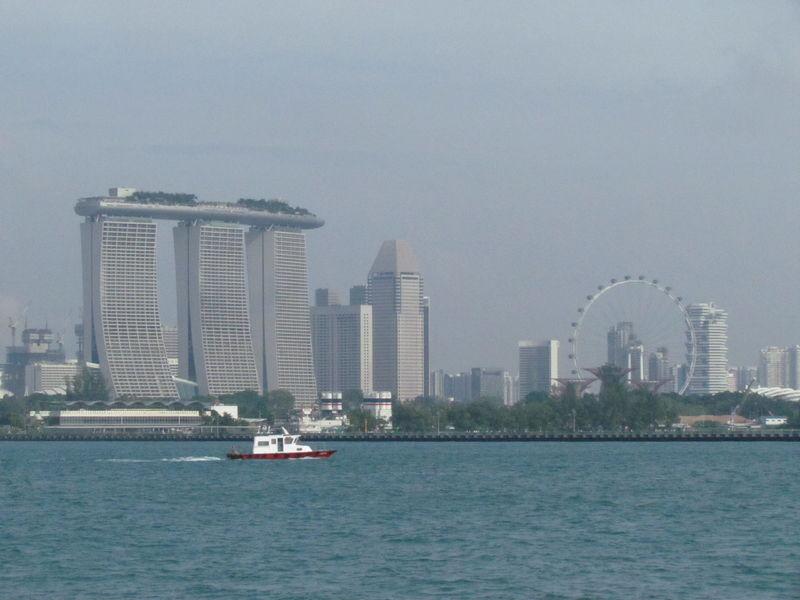 und nochmal Marina Bay Sands