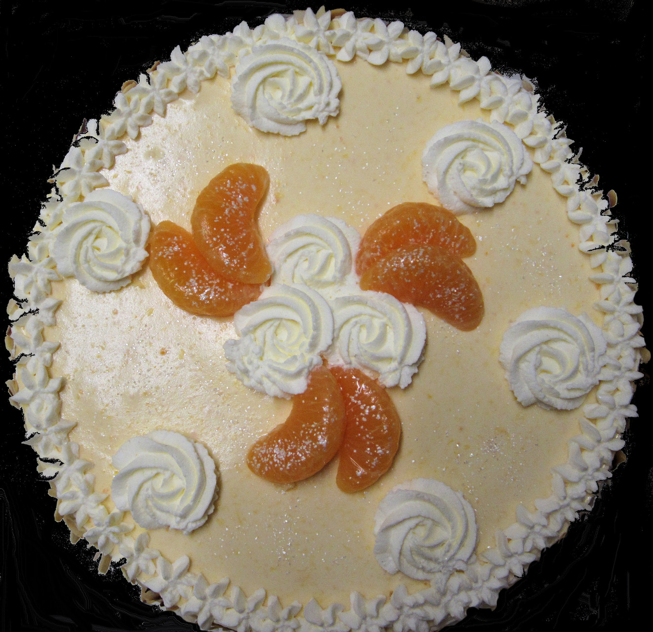 Mandarinen-Joghurt-Quarktorte