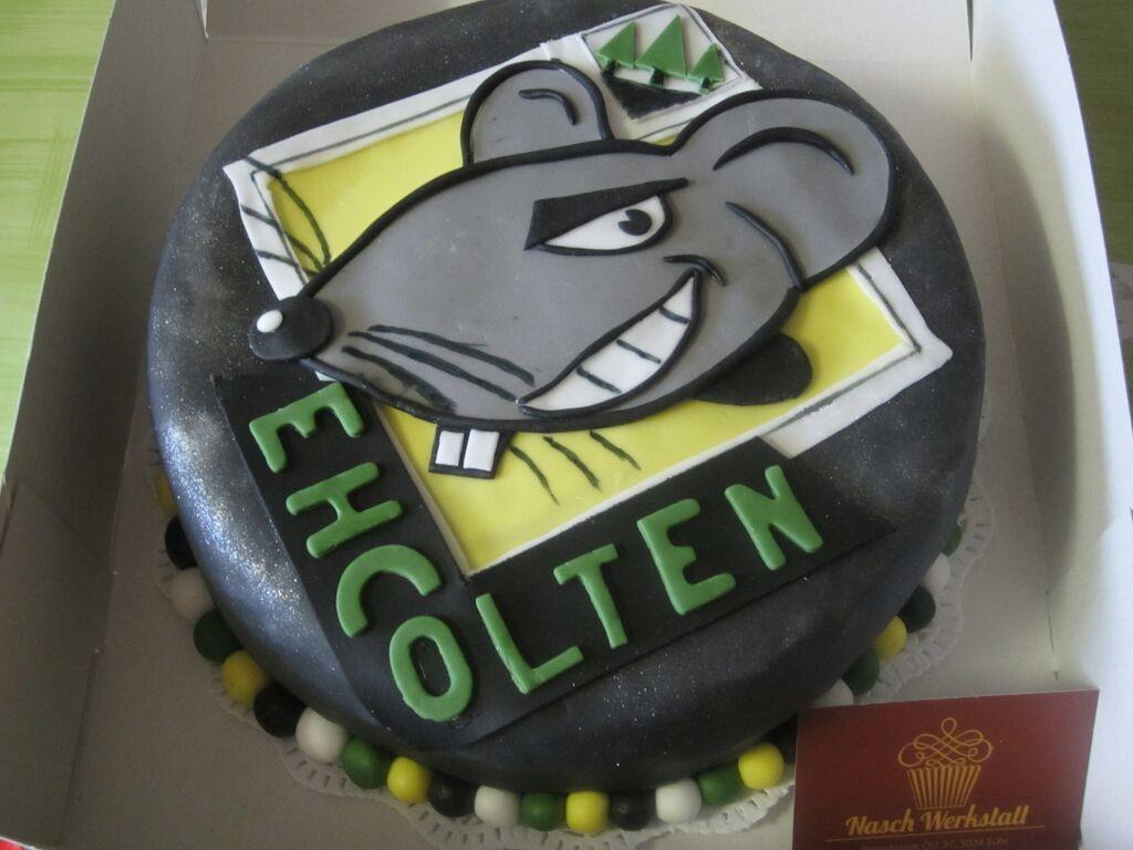 EHC Olten-Torte (mit Limoncello)