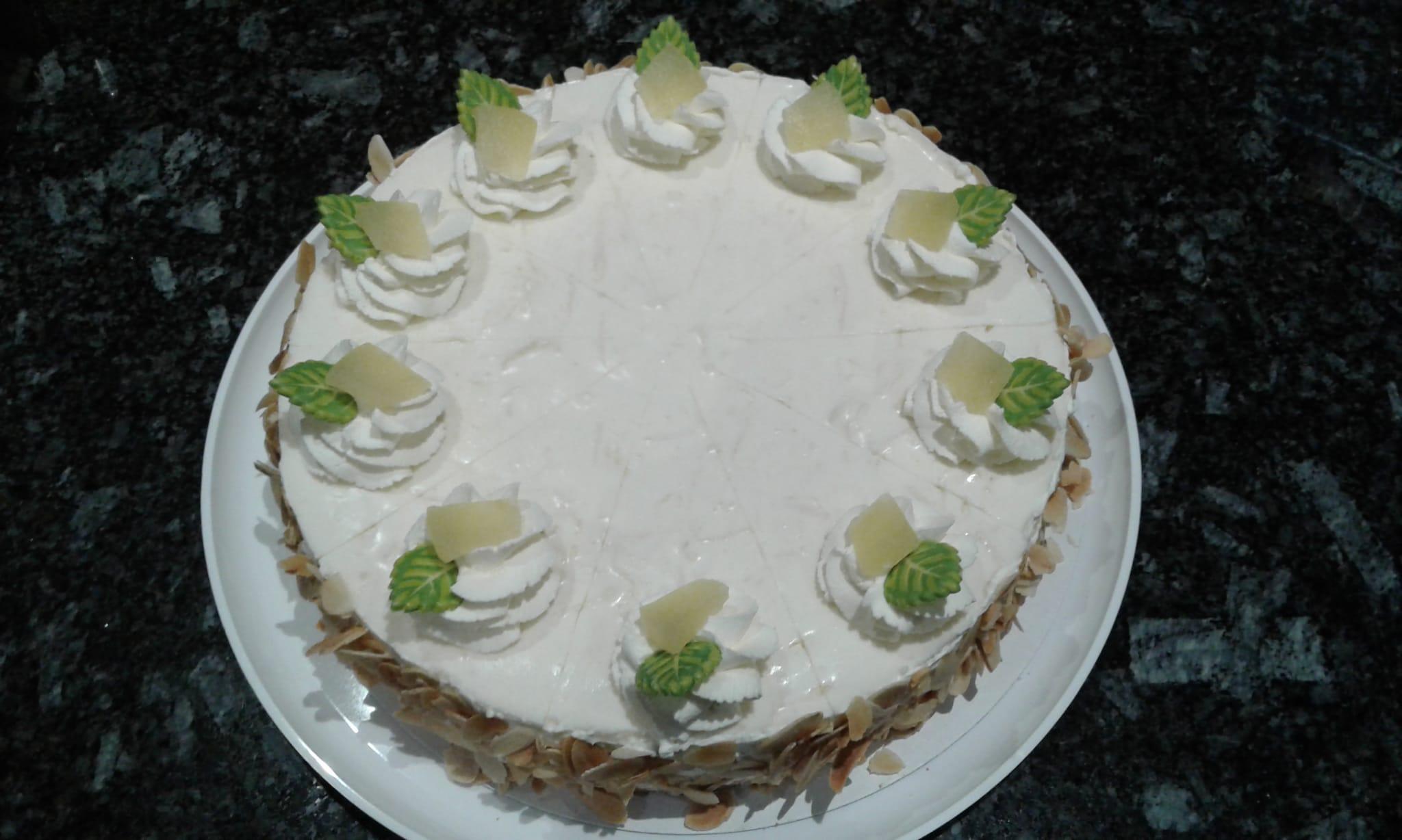 Apfel-Limetten-Torte