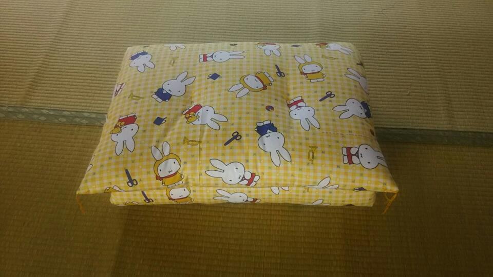 ミッフィーごろ寝布団 70㎝×160 ¥8,800