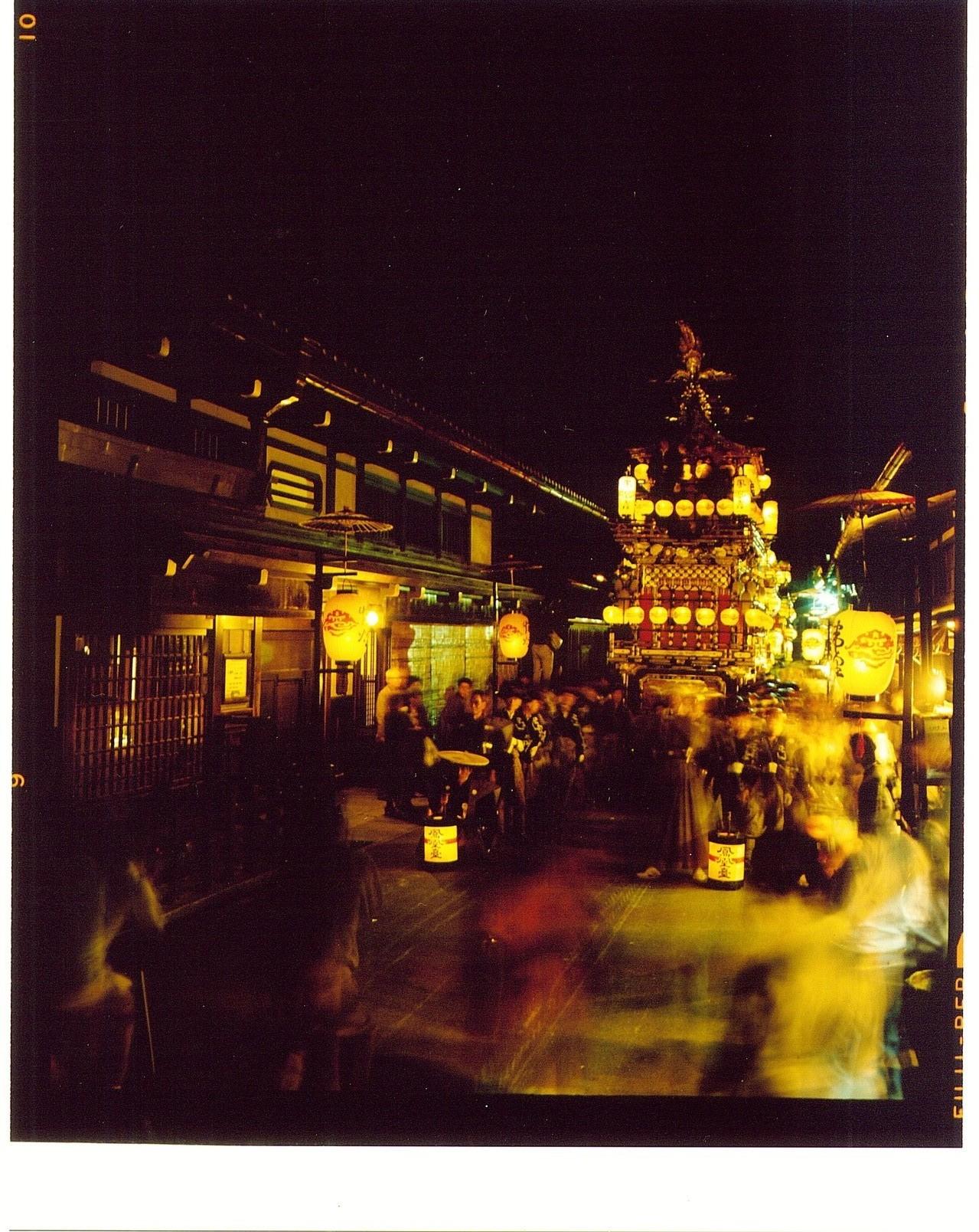 宵祭の屋台