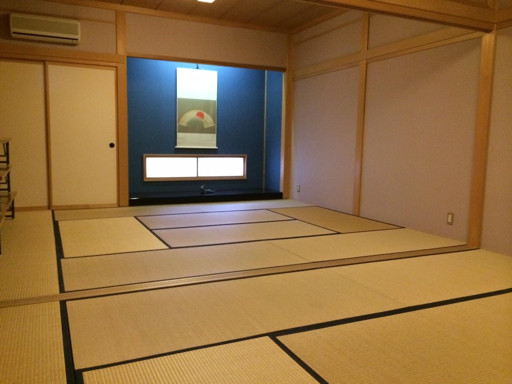 和室の小部屋は、茶会、小宴会、ご結納などに