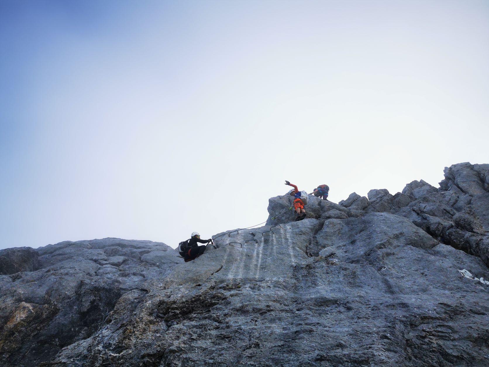 Klettersteig Rigidalstock 2593m