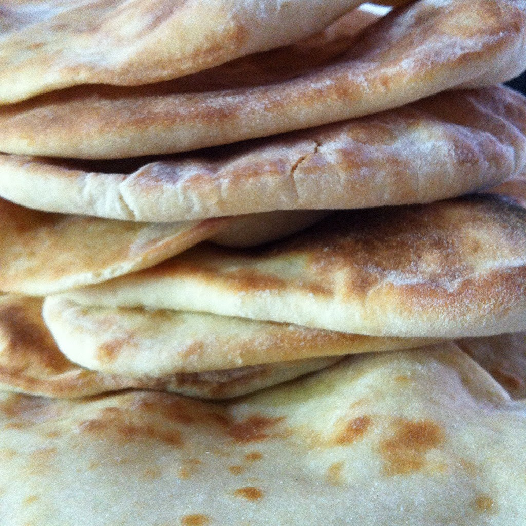 le pain plat libanais