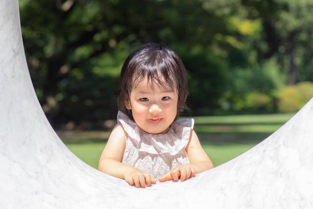 出張撮影 東京都庭園美術館 こども 女性カメラマン 誕生日撮影
