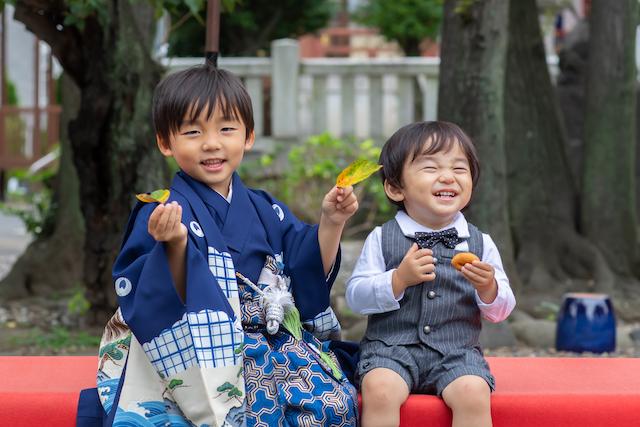 東京 練馬区 出張撮影 ロケーション撮影 出張カメラマン 七五三 千住神社 家族写真 5歳男の子 料金 安い お得