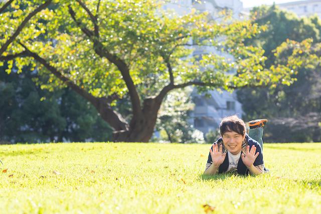 東京 練馬区 光が丘 出張撮影 出張カメラマン 家族写真 料金安い お得 プロフィール撮影 夏の雲公園