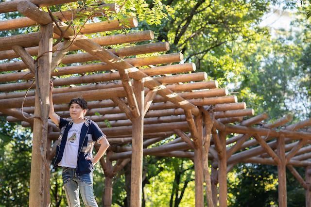 東京 練馬区 光が丘 出張撮影 出張カメラマン 家族写真 料金安い お得 プロフィール撮影 秋の陽公園