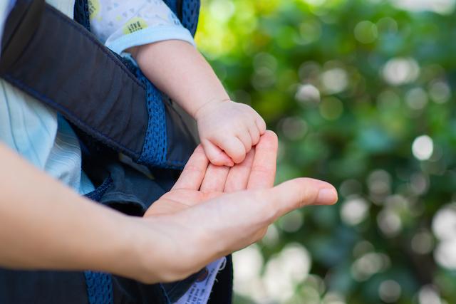 東京 練馬区 光が丘 出張撮影 子供 乳児 お散歩 家族写真